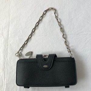 French Connection chain link purse shoulder bag